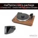 Pro-Ject X-tension 9 - Ortofon MM Pack Edition turntable - Walnut