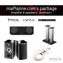 Amp & speakers package - Amétiste+