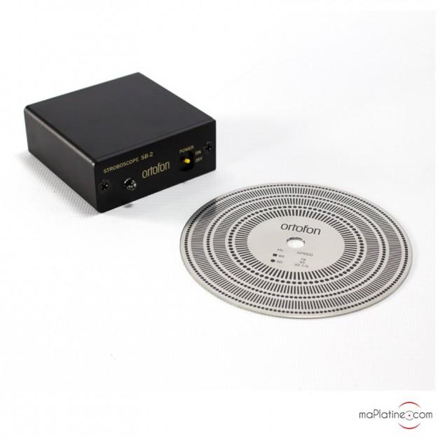 Lampe et disque stroboscopiques ORTOFON SB-1