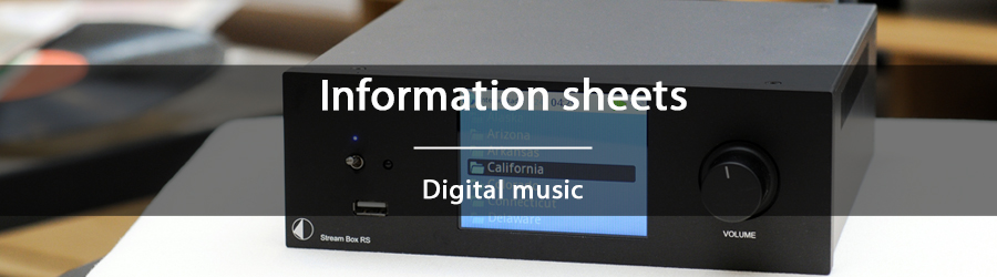 Information sheets - Digital music