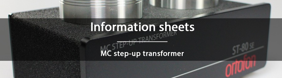 Information sheets - MC step-up transformer