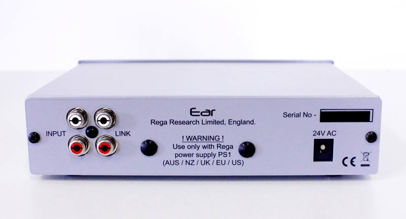 Rega EAR MK2 - Connection