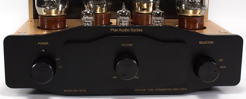 Pier Audio MS-66 SE - Front panel
