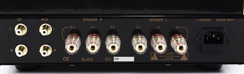 Pier Audio MS-66 SE - Back panel