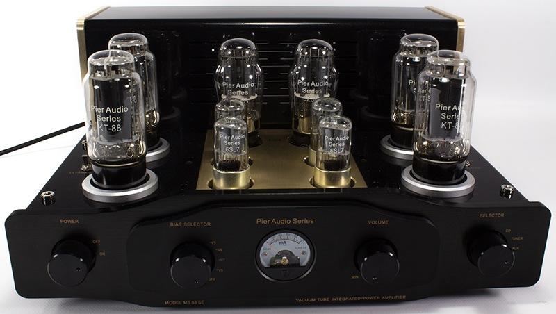 Pier Audio MS-88 SE vacuum tube integrated amplifier
