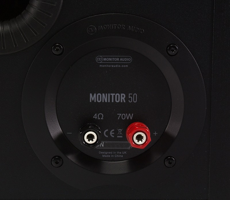 Monitor Audio Monitor 50 - Terminals