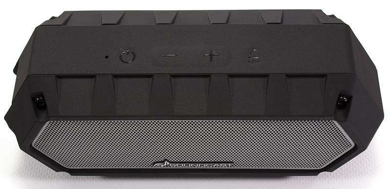 Soundcast VG1 Bluetooth portable speaker - Control panel