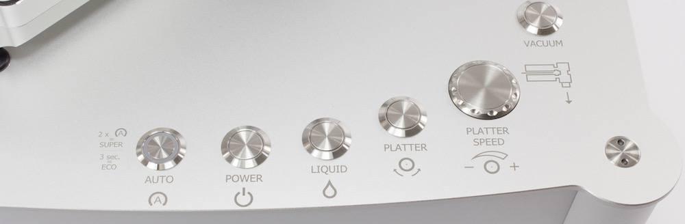 Clearaudio Double Matrix Pro SONIC Control panel