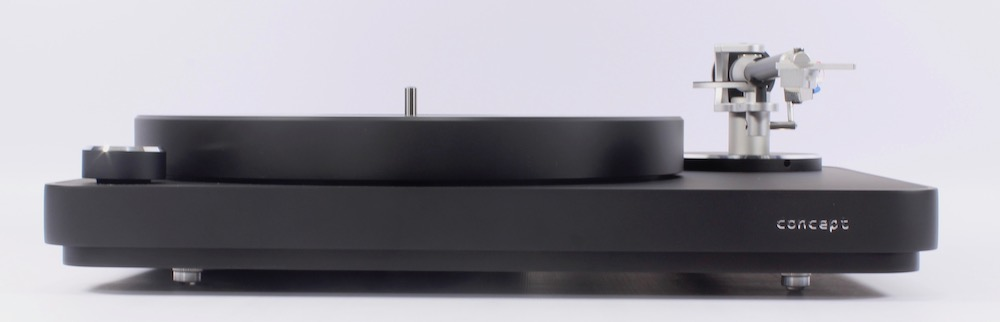 Clearaudio Concept MM Plinth and platter