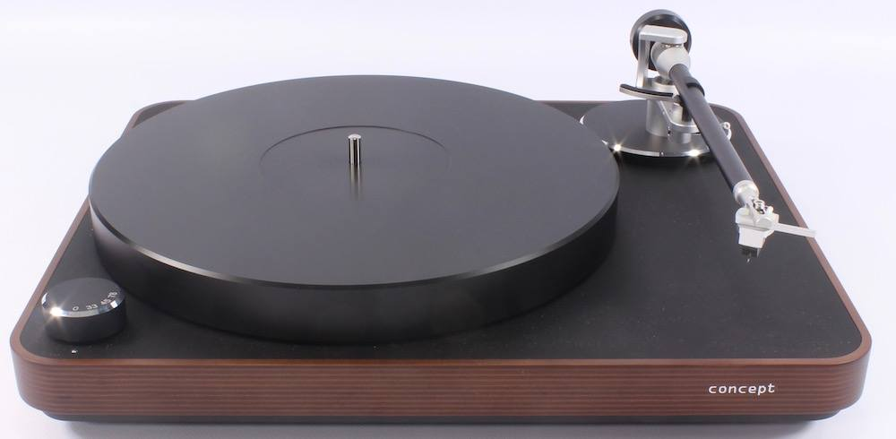 Clearaudio Concept MM Wood Plinth