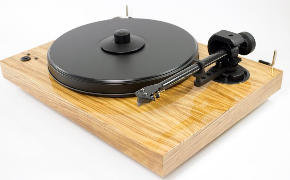 Pro-Ject 2-Xperience SB DC Plinth and platter