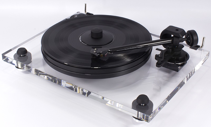Pro-Ject 2-Xperience Acryl DC turntable