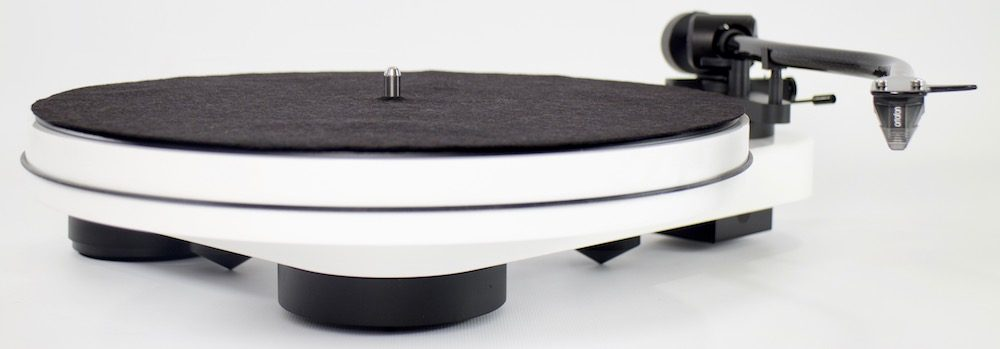 Pro-Ject RPM 3 Carbon Platter and feet
