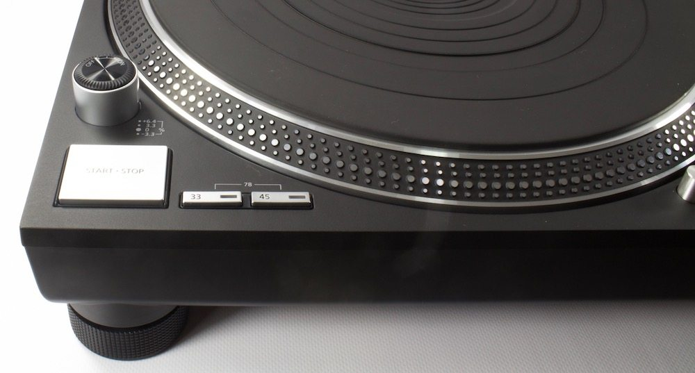 Technics SL 1200 / 1210 GR - Change speed