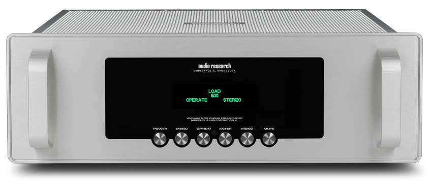 Audio Research PH9 - Front panel