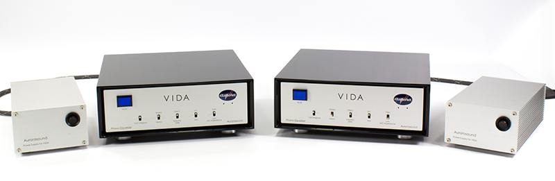 Aurorasound Vida Mono VI-8 - Phono preamp and its power supplies
