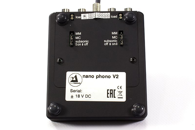 Clearaudio Nano Phono V2 phono preamplifier