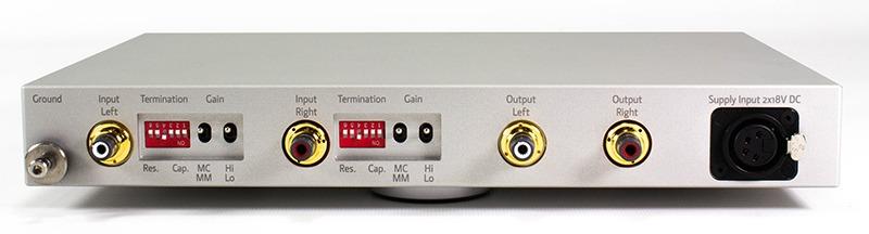 Lehmann Audio Silver Cube phono preamplifier