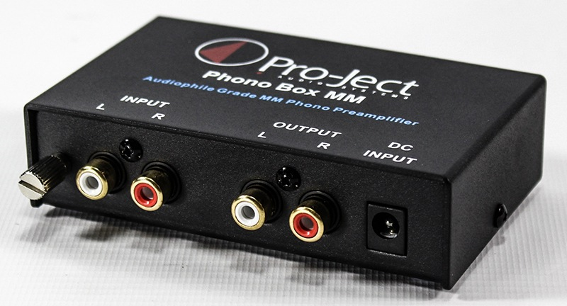 Pro-Ject MM DC phono preamplifier