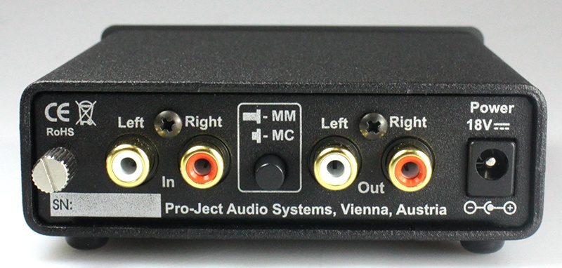 Pro-Ject Phono Box DC phono preamplifier