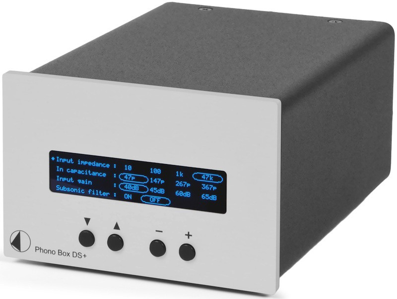 Pro-Ject Phono Box DS + phono preamplifier