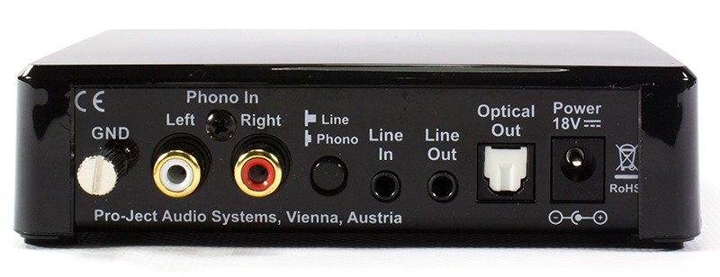 Pro-Ject Phono Box E Optical phono preamplifier