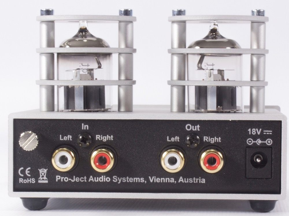 Pro-Ject Tube Box S2 phono preamplifier