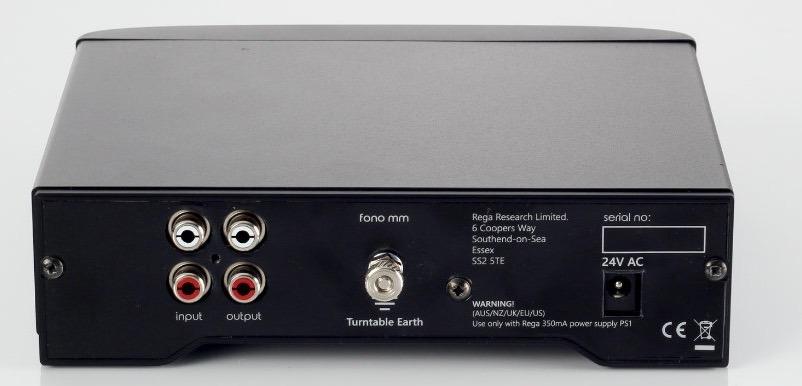Rega Fono MM MK3 - Outputs