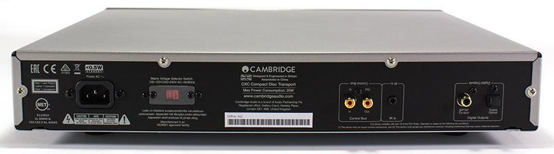 Cambridge CXC CD transport