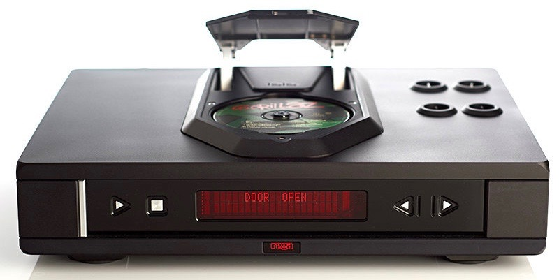 Rega ISIS Valve - Loading the CD