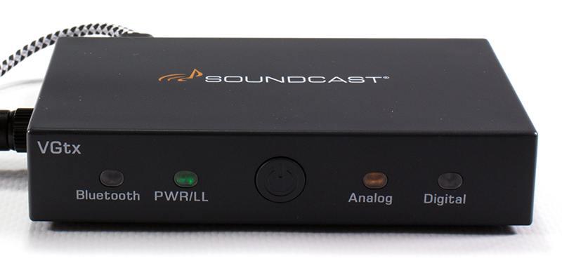 Soundcast VGtx - Front panel