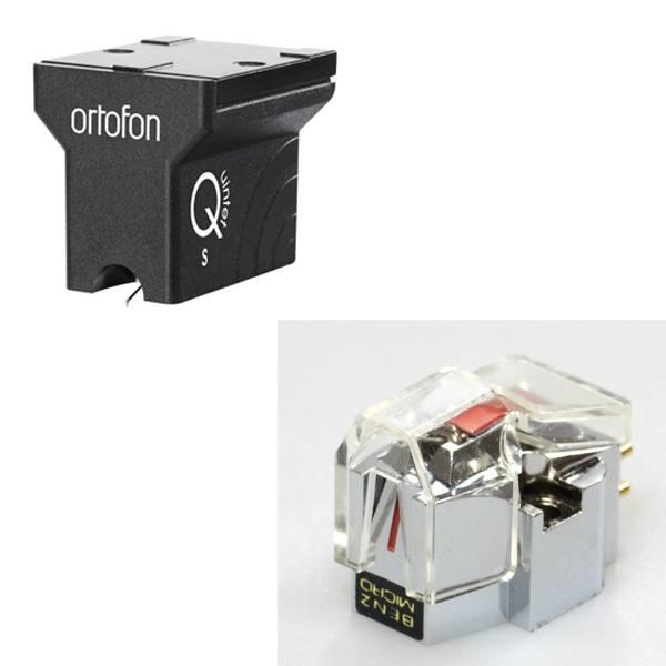 Ortofon Quintet Black S and Benz Micro Silver cartridges
