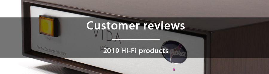2019 Customer reviews