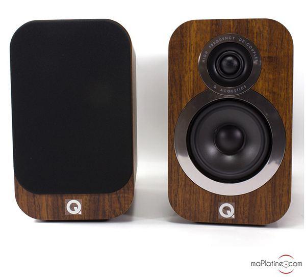 Q Acoustics 3010I NEW bookshelf speakers