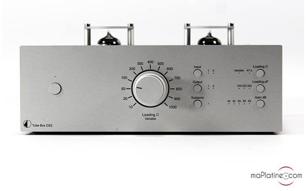Pro-Ject Phono Tube Box DS2 phono preamplifier