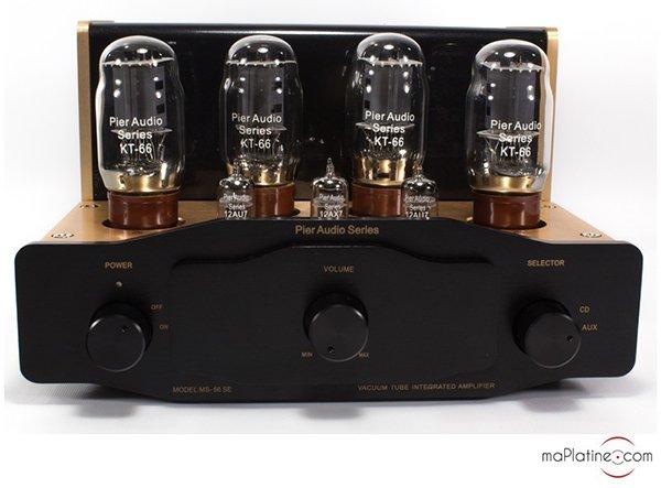 Pier Audio MS-66 SE vacuum tube integrated amplifier