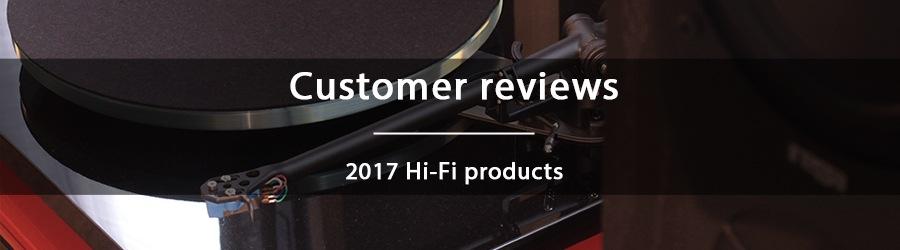 2017 Customer reviews