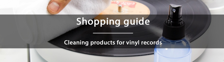 Cleaning products for vinyl records