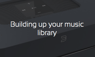 Building up your digital music library