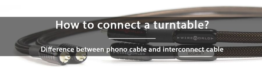 What is the difference between a phono cable and an interconnect cable?