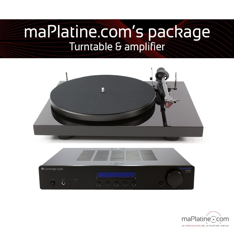 Turntable and amplifier Hi-Fi system
