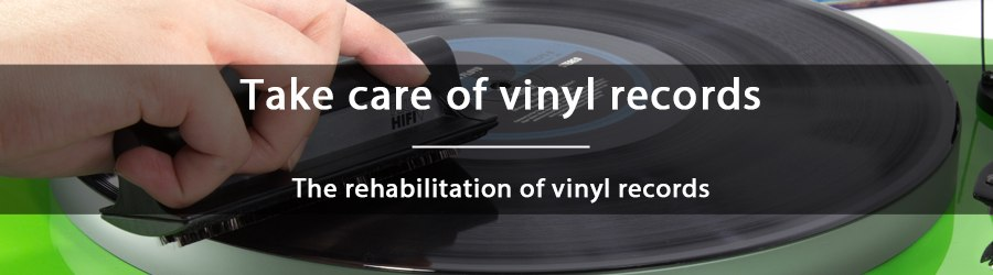How to rehabilitate vinyl records in bad condition