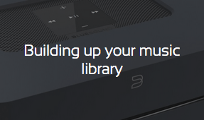 how to build up your music library