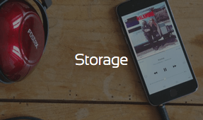 How to store audio files