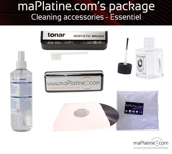 Essentiel cleaning accessories package