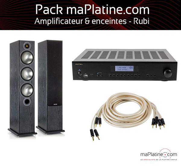 Rubi amplifier and speaker package