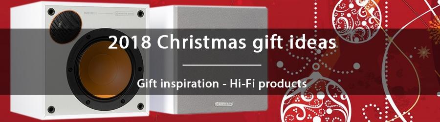 2018 Christmas gift ideas - Hi-Fi products