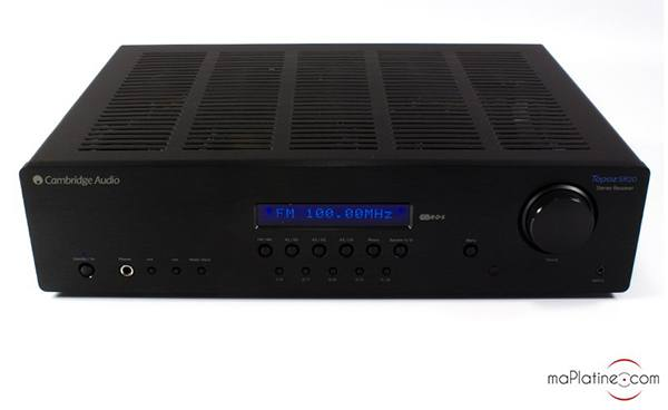 Cambridge Audio Topaz SR20 integrated amplifier