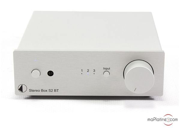 Pro-Ject Box S2 BT stereo amplifier