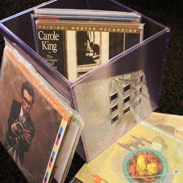Audiophile vinyl records